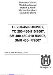 Husqvarna Te 250 2007 Werkstatt Handbuch Pdf Herunterladen Manualslib
