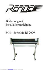 Folienhalter für Refine Schneideplotter EH und MH Serie Model ALT und NEU