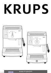 Krups Espresso Novo Plus FNC2 Handbücher | ManualsLib