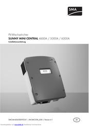 Sma Sunny Mini Central 4600a Installationsanleitung Pdf Herunterladen Manualslib