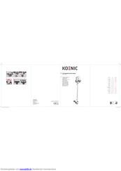 Koenic KVR 4120 Bedienungsanleitung